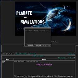 Nibiru / Planete X