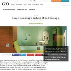 Nice : le mariage du luxe et de l'écologie