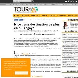 """Nice: une destination de plus en plus""""gay"""""""