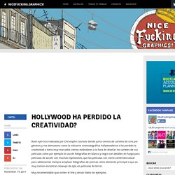 Hollywood ha perdido la creatividad?