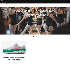 NiceKicks.com - The source for sneaker news, history, release dates, & culture.