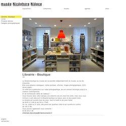 musée Nicéphore Niépce - Librairie - Boutique
