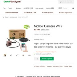 Nichoir Caméra WiFi - Green Backyard