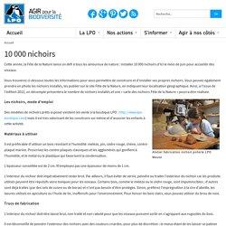 10 000 nichoirs - Actions pédagogiques
