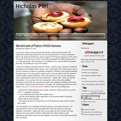 as Piël » Benchmark of Python Web Servers