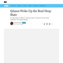 QAnon Woke Up the Real Deep State