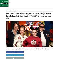 Judi Dench, Jack Nicholson, Jeremy Irons, Meryl Streep Fondly Recall Getting Start As Part Of 1993 Mouseketeer Class
