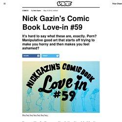 Nick Gazin's Comic Book Love-in #59