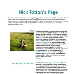 Nick Totton's Page