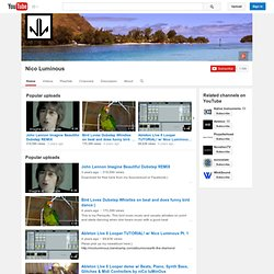 nicoluminous's Channel