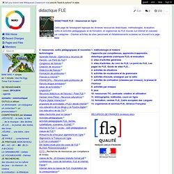 didactique FLE