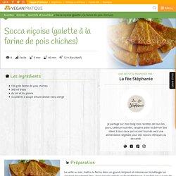 Socca niçoise (galette à la farine de pois chiches), recette
