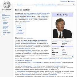 Fondateur Nicolas BEYTOUT Wikipédia