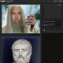 Nicolas Cage can be anyone - http://www.duelos.net