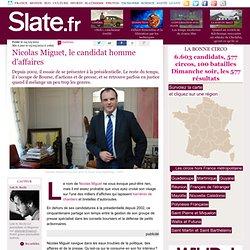 Nicolas Miguet, le candidat homme d'affaires