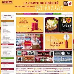 meilleur site français de vente de vin en ligne !