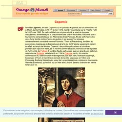 Nicolas Copernic.