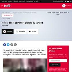 Corporate / Nicolas Silhol et Danièle Linhart, au travail !