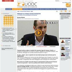 Nicolas Rolland : Déployer un réseau social d'entreprise