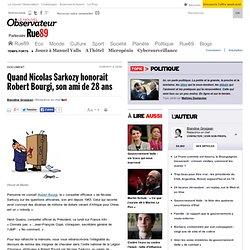 Quand Nicolas Sarkozy honorait Robert Bourgi, son ami de 28 ans