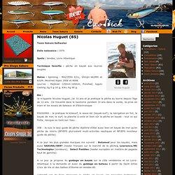 Nicolas Huguet (85) | La pêche aux leurres pour passion