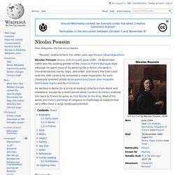 Nicolas Poussin - Wikipedia
