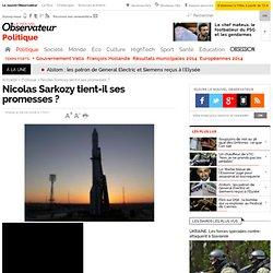 bilan Nicolas Sarkozy, promesses président : Nouvel Obs