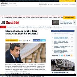 Nicolas Sarkozy peut-il faire annuler sa mise en examen ?
