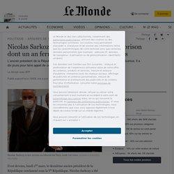 Nicolas Sarkozy condamné à trois ans deprison dont unan ferme dans l'affaire des écoutes