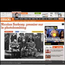Nicolas Sarkozy, premier sur le photobombing