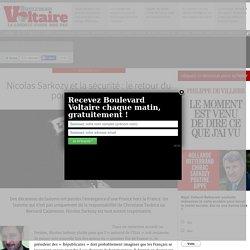 Nicolas Sarkozy et la sécurité : le retour du pompier pyromane