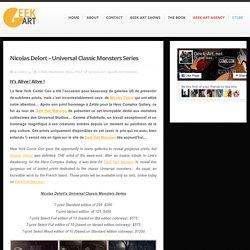 Nicolas Delort – Universal Classic Monsters Series