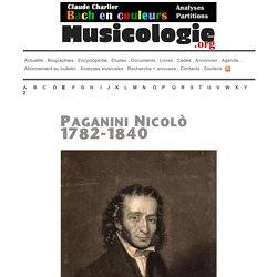 Portrait de Nicolò Paganini (1782-1840) - musicologie.org