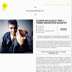 Florin Niculescu Trio + Timbo Mehrstein Quartet - Espace culturel Django Reinhardt