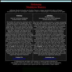 Nidstand - Maldição Runica