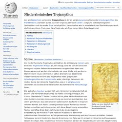 Niederrheinischer Trojamythos
