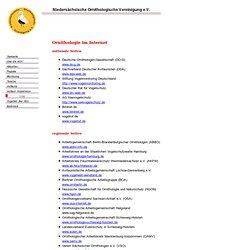 Niedersächsische Ornithologische Vereinigung e.V.