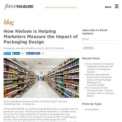 How Nielsen Is Helping Marketers Measure the Impact of Packaging Design