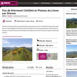 Puy de Niermont (1620m) et Plateau du Limon par Dienne