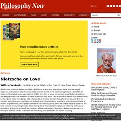 Nietzsche on Love