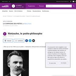 Nietzsche, le poète-philosophe