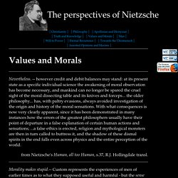 Nietzsche Quotes: Values and Morals
