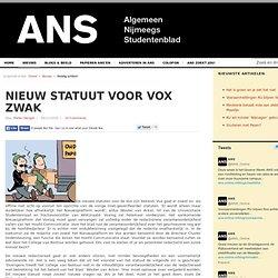 Nieuw statuut voor Vox zwak