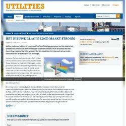 Het nieuwe glas in lood maakt stroom - Utilities