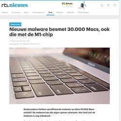 Nieuwe malware besmet 30.000 Macs, ook die met de M1-chip