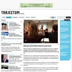 Nieuwe Universiteit Utrecht praat door