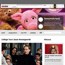 NTR - Nieuws - College Tour: Daan Roosegaarde