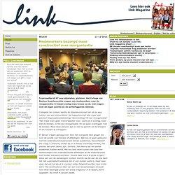 Link - 11-12-2013 Medewerkers bezorgd maar constructief over reorganisatie