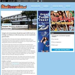 024 - 'Privacy studenten wordt geschonden'