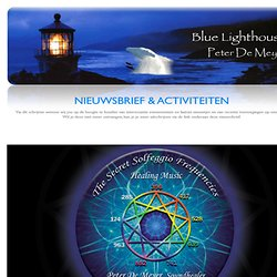 Blue Lighthouse sound healing